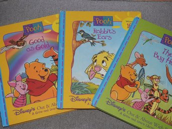Winnie the Pooh - 3 x English Children's Books Disney
