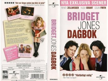 VHS - Bridget Jones Dagbok - Komedi, (2001)