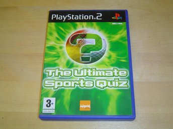The Ultimate Sports Quiz Sony Playstation 2 PS2 *NYTT*