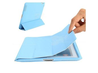 NY!iPad 2/3/4 Magnetic fodral Cover w/ Back Case Blå