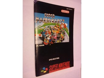 SNES: Manualer: Super Mario Kart (End. manual - Tysk)