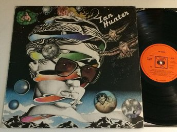 IAN HUNTER s/t LP -75 UK CBS S 80710