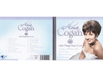 "Alma Cogan ""Little things means a lot""   i bra skick"