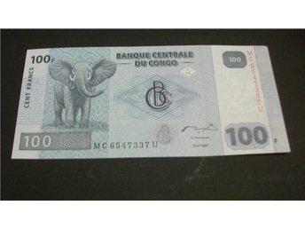 (11) KONGO 100 CENT FRANCS 2007 UNC - Luleå - (11) KONGO 100 CENT FRANCS 2007 UNC - Luleå