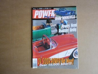 Power Magasine nr 4 2000 - åhus - Power Magasine nr 4 2000 - åhus