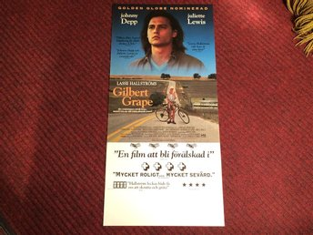 KULT-FILM GILBERT GRAPE Juliette LEWIS Johnny DEPP Lasse HALLSTRÖM FRI FRAKT