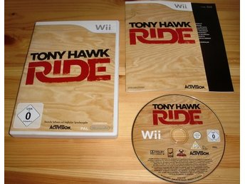 Wii: Tony Hawk Ride
