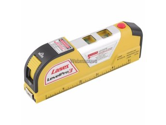 Lasermåttband Laser Level Meassuring Tape Horizontal Vertical Line