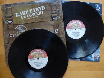 2 x LP - RARE EARTH in Consert . Two Records In This Bag.  Holland 1971