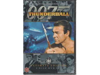 Åskbollen - Thunderball Ultimate Edition (Sean Connery) 1965 - DVD NY