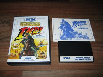 SEGA MS/PAL: Indiana Jones and the Last Crusade (komplett)