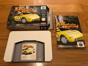 Beetle Adventure Racing CIB - N64