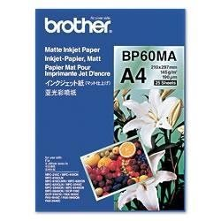 Papper Brother BP60MA 25 ark, Matt, A4