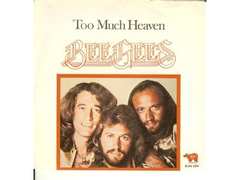 Bee Gees / ABBA  - 7´ Too much heaven  / Chiquitita  1979  VG++