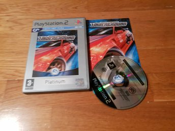 NEED FOR SPEED UNDERGROUND PS2 BEG