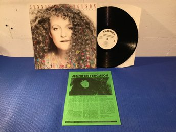 Jennifer Ferguson - Hand Around The Heart Swe Orig-87 PROMOBLAD !!!!!