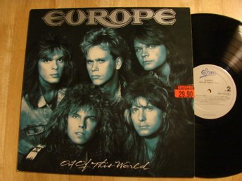 EUROPE - Out of this world   LP
