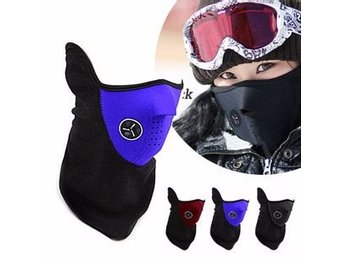 Skidmask Blå Fleece Ski Mask