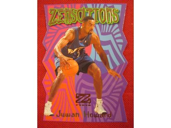 JUWAN HOWARD - ZENSATIONS - 1997-98 Z-FORCE - UTAH JAZZ - BASKET