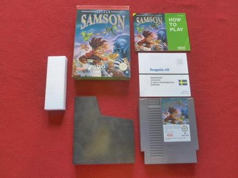 LITTLE SAMSON till Nintendo NES SCN - Blomstermåla - LITTLE SAMSON till Nintendo NES SCN - Blomstermåla