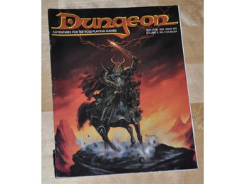 AD&D/D&D Dungeon Magazine #59 (May/Jun 1996) 76 sidor.