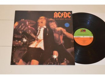 AC/DC - If You Want Blood (Atlantic UK 1978) **RARE UK TOP**