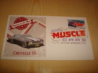 1970 Chevrolet Chevelle SS 454 USA 2013 förstadagsbrev - Jämjö, Blekinge - 1970 Chevrolet Chevelle SS 454 USA 2013 förstadagsbrev - Jämjö, Blekinge