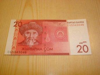 2009 Kirgizistan 20 Som ocirkulerad och ovikt UNC - Jämjö, Blekinge - 2009 Kirgizistan 20 Som ocirkulerad och ovikt UNC - Jämjö, Blekinge
