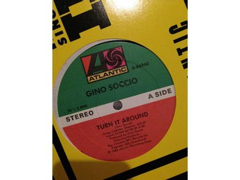 Gino Soccio - Turn It Around Maxi 1984 Atlantic US