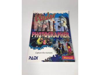 Manual: Underwater Photographer PADI Engelska Retro