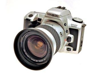 Minolta 505 Si inkl AF 28-80 zoom - Hässelby - Minolta 505 Si inkl AF 28-80 zoom - Hässelby