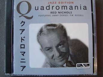 CD-BOX Red Nichols - Featuring Jimmy Dorsey, P.W. Russell, 4CD.