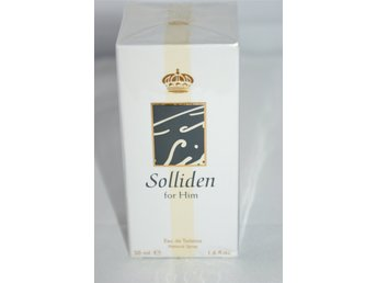 Oriflame Solliden for men - 50ml edt NY!