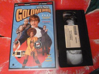 AUSTIN POWERS IN GOLDMEMBER, VHS, SVENSK TEXT, FILM, 90 MIN.
