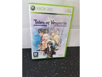 Xbox 360 : Tales of Vesperia- Pal - komplett med manual
