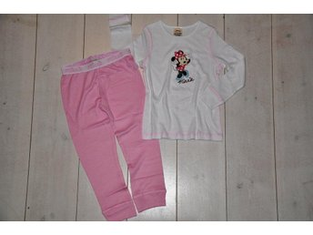 nytt Disney thermal set 2-3 år=98 minnie underställ så fint
