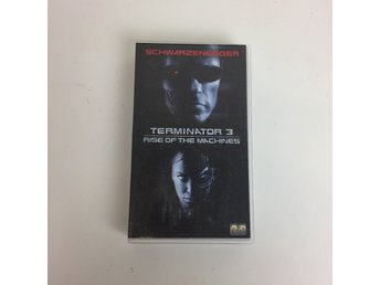Universal, VHS-film, Terminator 3 - Rise of the machines