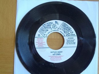 Ray Campi Rattlin Daddy rare USA 45 rock & roll rockabilly