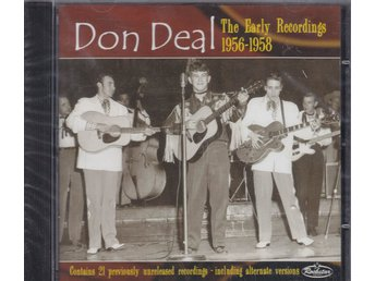 CD Don Deal The Early Recordings 1956-1958