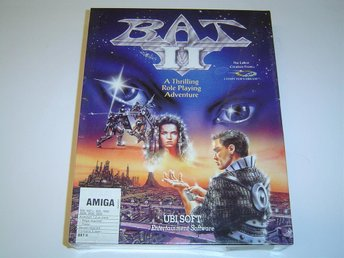BAT 2 Commodore Amiga 500 *NYTT*