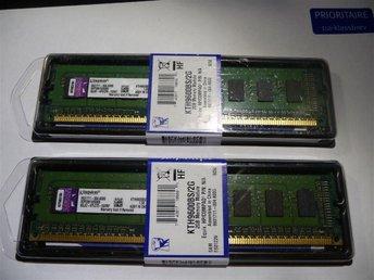 KINGSTON 4GB DDR3 (2x2GB) PC3-10600 1333Mhz - till STATIONÄR - Göteborg - KINGSTON 4GB DDR3 (2x2GB) PC3-10600 1333Mhz - till STATIONÄR - Göteborg