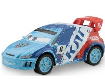 Disney Pixar Cars Bilar Mcqueen metall - Raoul Caroule Ice Racers Chaser 1:43 NY