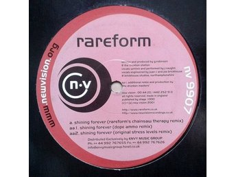 Rareform title* Shining Forever* Drum n Bass 12""
