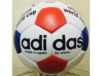 Adidas Soccer World Cup Football Tricolour Made In Spain By Arena