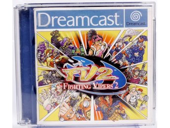 Fighting Vipers 2 - Sega Dreamcast - PAL (EU)