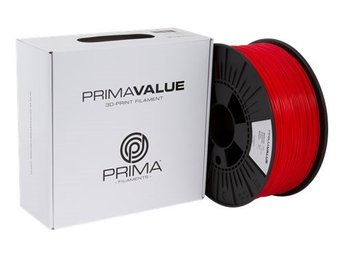 PrimaValue ABS filament, 1.75mm, 1kg, röd
