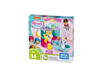 Mega Bloks Shimmer & Shine Splash & Sparkle Pets Building Set