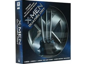 X-men quadrilogy Ultimate collection 1-4 / Box (8 DVD) Ny OOP!!