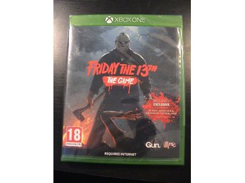 FRIDAY THE 13TH - THE GAME / XBOX ONE / NYTT & INPLASTAT
