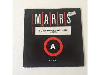 "MARRIS - PUMP UP THE VOLUME. (7"")"